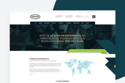 Desenvolvimento de site em Wordpress